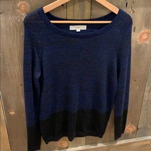 Ann Taylor Loft holiday inspired sweater size S